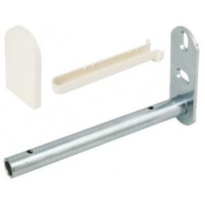 Shelf Support Set for wooden shelves - wall fixing