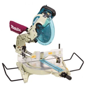 110V 305mm Dual Slide Compound Mitre Saw with Laser Line