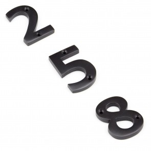 Numerals 0 to 9 - Aged Bronze