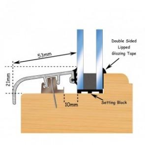 Posilok 53mm Window Trim 3m - Mill