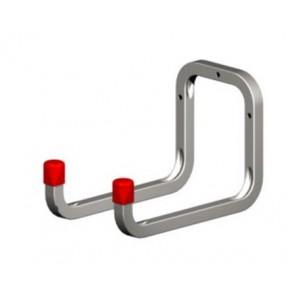 Double Wall Hook 120 x 98x 175mm - Galvanised Steel