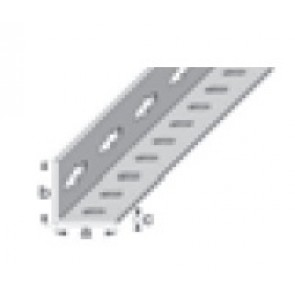 2.5m x 23.5mm Equal Sided Angle - Drilled Galvanised Steel