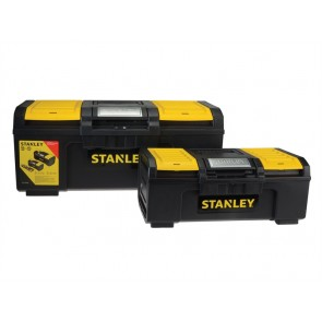 Stanley One Touch Toolbox 2 Pack (x1 41cm & x1 60cm)