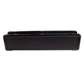 Black UPVC Letterbox 305 x 70mm