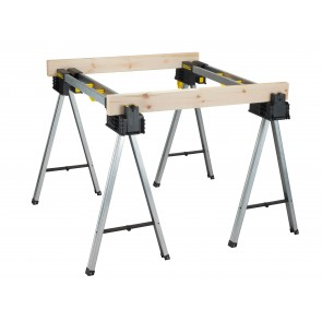 XMS18STANDS STANLEY FatMax™ Aluminium Trestles (Twin Pack)