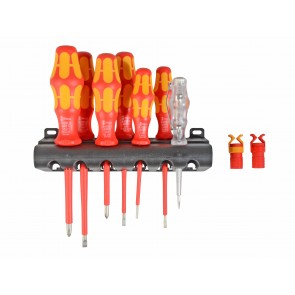 XMS18VDESET 6 Piece Wera VDE Screwdriver Set with Grippers