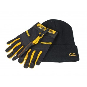 XMS18WORKGLO CLC FlexGrip™ Work Gloves and Beanie Hat