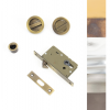 Sliding/Pocket Door Lock Set - Various Finishes