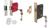 Mortise lever locks