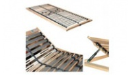 Bed fittings: bed frames, slats and holders