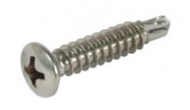 Window frame screws