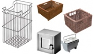 Storage units and containers